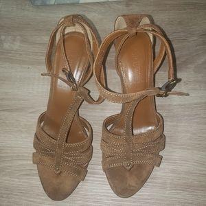 J crew sandals women's 6
